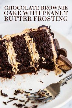 Brownie Desserts, Oreo Dessert, Köstliche Desserts, Delicious Desserts, Dessert Recipes, Brownie Ideas, Health Desserts, Cheesecake Recipes, Cake Mix Cookies
