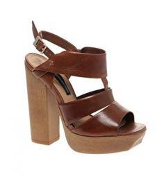 Resultado de imagen para zapatos con tacon grueso