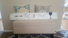 Custom made wood signs.  Email me at lovemadethisdecor@gmail