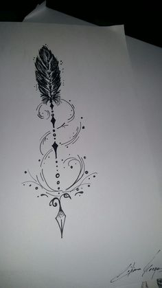 ,You can find Arrow tattoo design and more on our website. A Tattoo, Ankle Tattoo, Tattoo Drawings, Tattoo Quotes, Tiny Tattoo, Tattoo Pain, Future Tattoos, New Tattoos, Body Art Tattoos