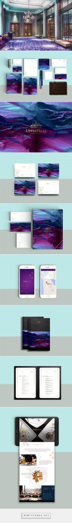 Upperhills Convention Hall Branding by Nero Graphic Atelier | Fivestar Branding – Design and Branding Agency & Inspiration Gallery