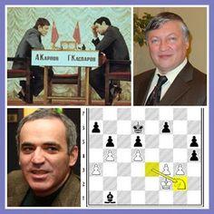 EL Chusmarino Amarillo: La magia del caballo.- 1 Karpov v Kasparov 1984