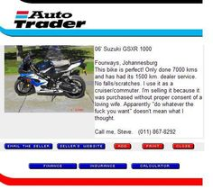 Best Motorcycle Ad Ever!