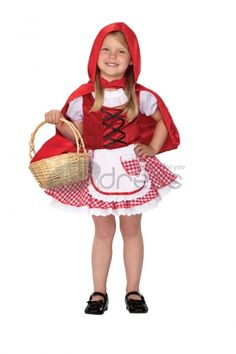 Little Red Riding Hood Costumes Halloween Costumes, how cute, if you are a responsible mother, then take this to meet your daughter.