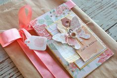 Mish Mash: Butterfly gift sack + cards...
