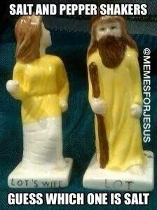 Haha guess which one is salt? Christian humor. I need this!!