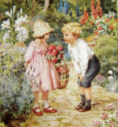The Proposal, Children in Garden