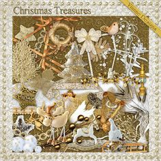 """Photo from album """"Christmas Treasures"""" on Yandex. Scrapbook Templates, Scrapbook Designs, Collages, Digital Scrapbooking Freebies, Digital Papers, Background Vintage, Cover Pages, Yandex Disk, Print And Cut"""