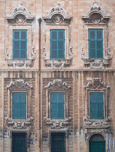 Thumbnail - architectural photography by Adrienne Frankenfield Photography Capital Of Malta, Malta History, Green Shutters, Malta Gozo, Malta Island, Life Is A Journey, Mediterranean Sea, Beautiful Architecture, Archipelago