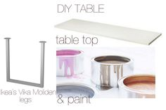 DIY easy-peasy kitchen squeezy    time of the aquarius: DIY table (once more)