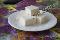 Творожное желе (творожный зефир) по Дюкану » ДЮ-диета: диета Дюкана