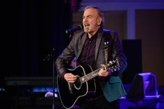 Neil Diamond performed at his former high school, Erasmus Hall High School, in Brooklyn last...