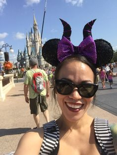 Maleficent Mickey Mouse Ears for Disney trip.