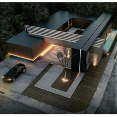 House designs exterior - 49 most popular modern dream house exterior design ideas 8 – House designs exterior Residential Architecture, Contemporary Architecture, Interior Architecture, Houses Architecture, Contemporary Design, Architecture Colleges, Computer Architecture, Enterprise Architecture, Amazing Architecture