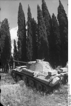German Panzer V . Unknown location. Italy 1944. #worldwar2 #tanks