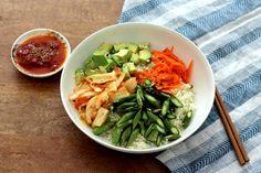 Vegan Korean Recipes: Raw Summer Bibimbap - Peaceful Dumpling | Peaceful Dumpling