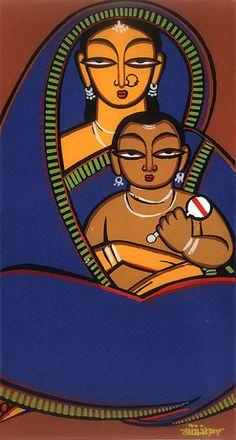 Jamini Roy (1887 – 1972, Indian)