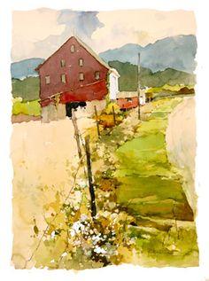 Bill Vrscak #watercolor jd
