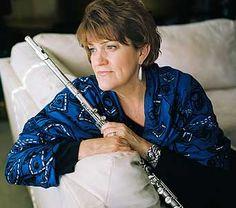 Holly Hoffman ... jazz flute
