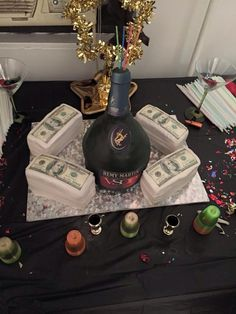 Remy Martin Vsop Bottle Cake The World S First And