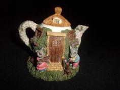 Vintage Possible Dreams Decorative Mouse Teapot - Very Cute!