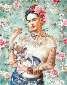 Frida Kahlo  #Fondo #Ilustracion #Wallpaper #IPhone #Samsung #Whatsapp #Facebook #Twitter #México