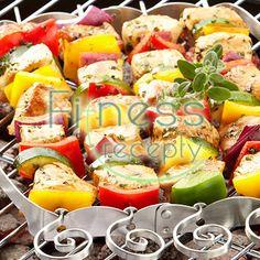 Zdravé fitness recepty - Grilovaná zelenina Fresh Rolls, Potato Salad, Sushi, Veggies, Potatoes, Ethnic Recipes, Fitness, Food, Style Inspiration