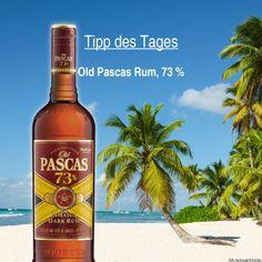 Unser Tipp fürs #Wochenende!  Old Pascas Rum 73%. Im Geschmack erlebt man eine Vielzahl von Gewürzen. Dazu kommen Trockenobst- und Schokoladenaromen. Der Nachklang ist lang, herb und intensiv. Als #Rum mit 73 % eignet er sich ideal zum Mixen an der Bar.