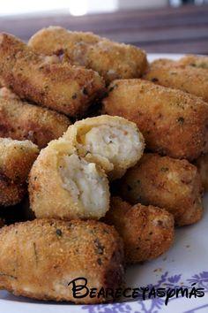 Croquetas de jamón serrano (TMX)   Recetas de cocina fáciles y sencillas   Bea, recetas y más