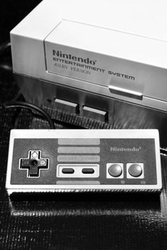 the original Nintendo... I played so much Duck Hunt and Mario on this - the first gaming system I ever played on :)