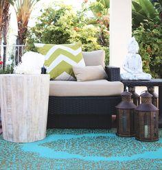 Garten-Teppich - Orientalisches Flair für den Außenbereich