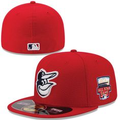 Men's Baltimore Orioles New Era Scarlet 2014 Home Run Derby 59FIFTY Performance Fitted Hat