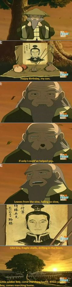 This is one of the saddest moment in the show