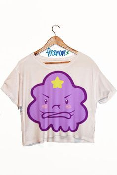 Lumpy space princess Crop Top!