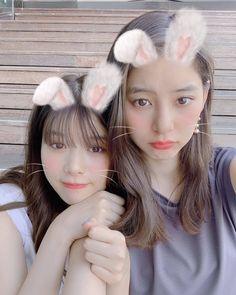 Araki Yuko & Fumika Baba (新木優子 & 馬場ふみか) Bellisima, Actors, Model, Instagram, Beauty, Girls, Mathematical Model, Little Girls