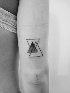 Geometric tattoo Me and my brother and sister