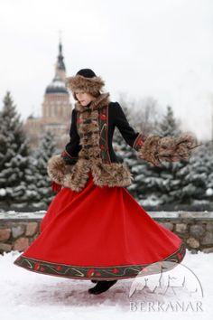 "Шерстяная юбка ""Русские сезоны"" от Берканар"