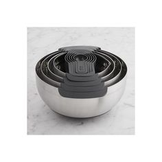Williams-Sonoma Joseph Joseph Nest 100 Food Prep Set (695 DKK) ❤ liked on Polyvore featuring home, kitchen & dining, kitchen gadgets & tools, stacking mixing bowls, food colander, nesting mixing bowls, storage bowl and nested mixing bowls