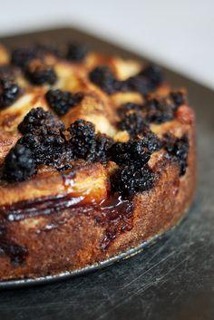 The Ginger Cook: Apple-Blackberry Cake