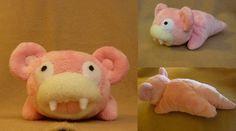 Slowpoke plush by Plush-Lore.deviantart.com on @deviantART