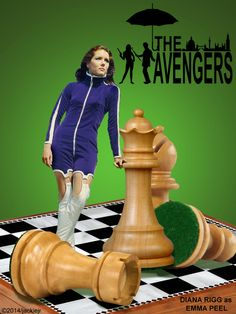 The Avengers Poster Collage by jackiejr #theavengers #emmapeel