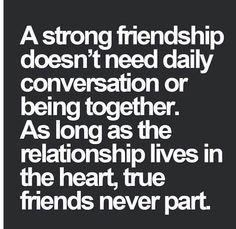 Long distance friendship quote