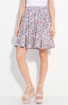 cacharel poplin skirt