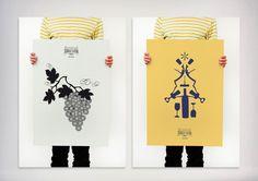 Terras Gauda, Plakat, Weinhandel