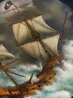 Stormy seas The Wheelhouse, Ocean Storm, Stormy Sea, Tall Ships, Sailing Ships, Pirates, Boat, Fantasy, Hobbies