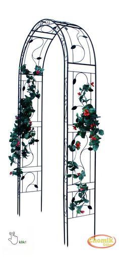 Dekoracyjna pergola na róże, powojniki czy bluszcze o wysokości 260 cm