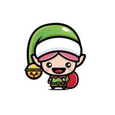 Christmas Illustration, Anime, Fictional Characters, Elf Funny, Santa Claus Elves, Santa Hat, Christmas Cartoons, Animated Cartoon Characters, Male Elf