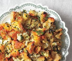 This is THE BEST stuffing recipe!!! Use good quality bread chinks, like the sourdough kind from Whole Foods