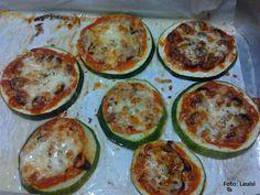 Pizza de Courgette ~ As Delícias das Guerreiras
