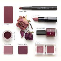цвет марсала в макияже 2015-2016